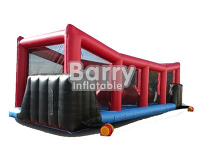 China Inflatable Wipeout Obstacle Course For Sale/ Leaps And Bounds Game BY-IG-046