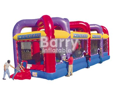China Supplier Good Price Boldrdash-close, Inflatable Interactive Game BY-IG-047