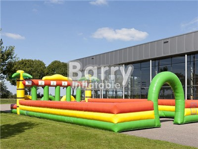 Running Horse Game Jungle Inflatable Race Track For Sale  BY-IG-051