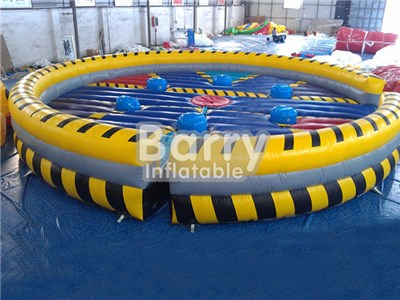 New sports game Inflatable wipe out game meltdown games China BY-IG-012