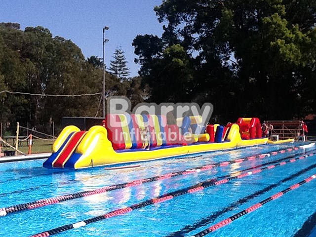Customized Obstacle Course Races Inflatable Water Obstacle Course BY-AR-004