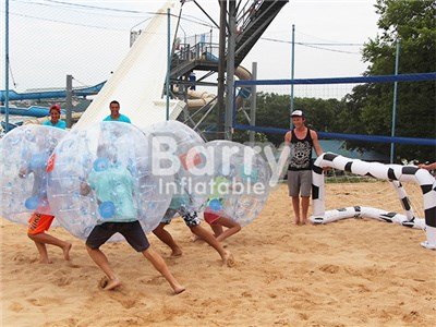 High Quality Transparent Knocker Soccer , Body Bumper Balls , Body Zorb for Sale BY-Ball-016