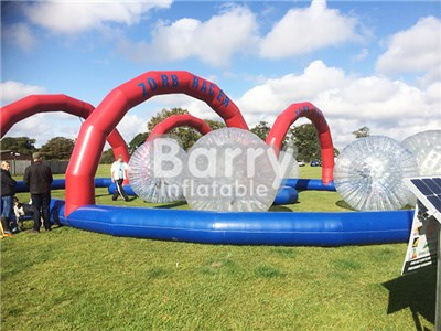 Commercial inflatable zorb ball track rolling down slope inflatable body ball BY-Ball-012