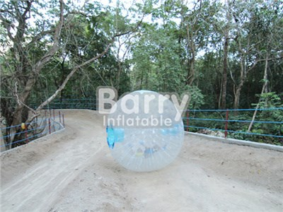 Popular Inflatable Toys Cheap Durable White Inflatable Body Zorb Ball For Kids BY-Ball-039