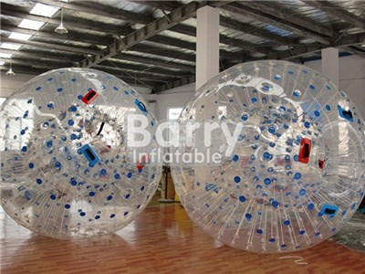 Playing on the grass/land adult inflatable body zorb ball, Guangzhou zorb ball factory BY-Ball-011