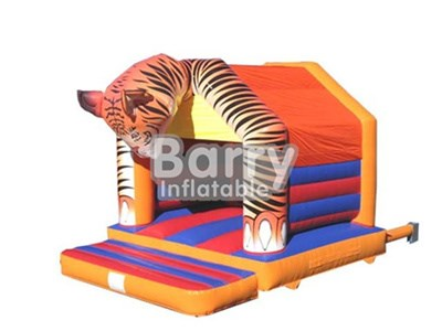 Tiger Head Inflatable Bounce House With Cheap Price,China BY-BH-031