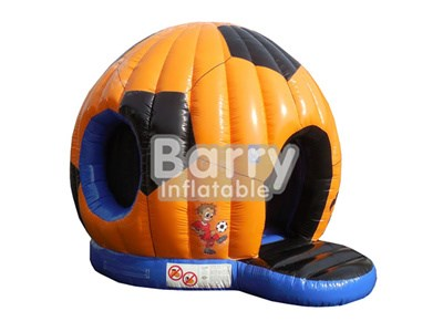 Buy soccer shape inflatable bounce house from China factory BY-BH-040