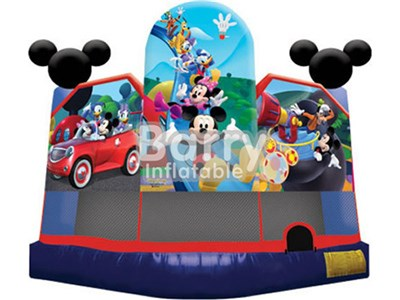 Customized Disney Mickey Mouse Inflatable Bounce,Jumper Bounce House BY-BH-005