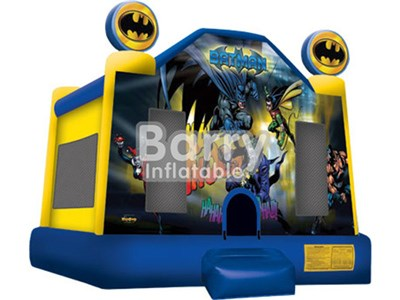 Guangzhou Barry Kids Blue A Frame Module Bounce House , Inflatable Jumper BY-BH-020