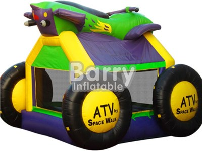 Race car design inflatable bounce,cheap inflatable car bounce for commercial BY-BH-003