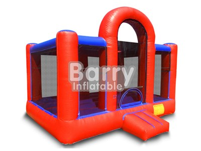 Design red bounce around inflatables,indoor inflatable bouncers for kids BY-BH-009