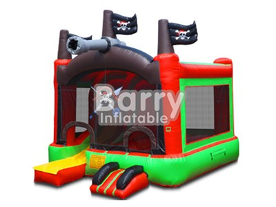 Party inflatable bouncers,pirate theme inflatable jumping house for children BY-BH-004