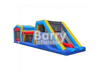 China supplier custom small children inflatable obstacle course for sale BY-OC-018