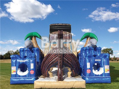 Treasure Island inflatable obstacle-courses made in China BY-OC-010