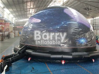 China nylon oxford material inflatable planetarium dome tent price BY-IT-018