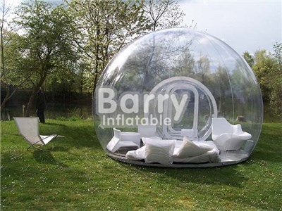 Outdoor camping clear transparent inflatable bubble tent for sale price BY-IT-008