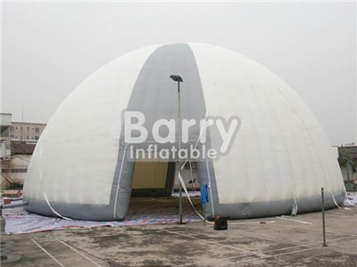 Factory cheap price customized inflatable round dome tent China  BY-IT-026