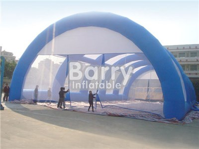 Guangzhou inflatable lawn tent ,giant inflatable sport tent for paintball bunker  BY-IT-035