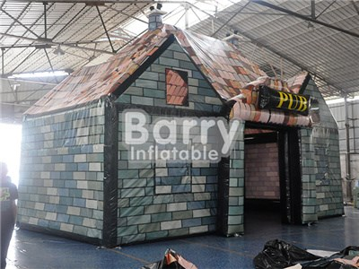 Custom made outdoor giant inflatable pub /bar tent for parties or events BY-IT-012