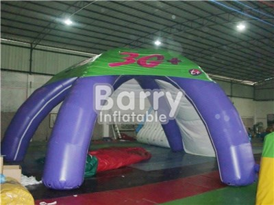 Customized China 4 legs inflatable advertising tent with logo printing for event BY-IT-014