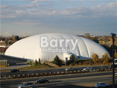 Customized dome air structures,sport air building dome tent for tennis BY-IT-001