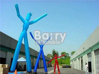Custom mini inflatable sky air dancer dancing man with blower for advertising BY-AD-001