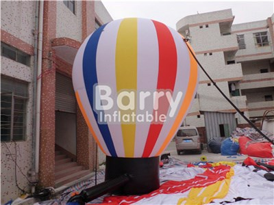 Advertising inflatable colorful ground balloons,gaint advertising balloon factory BY-AD-002