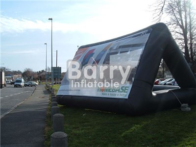 Cheap price advertising inflatable  billboard, water floating inflatable billboard BY-AD-003