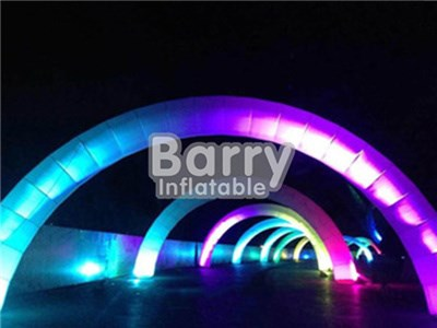 Custom logo advertising inflatable entrance start finish line LED inflatable arch BY-AD-009