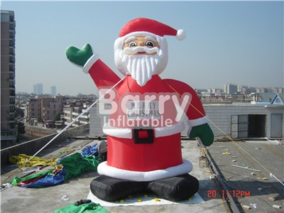 Christmas theme inflatables good price inflatable santa, inflatable santa clause BY-AD-012