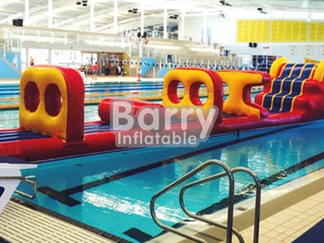 Hot Selling Inflatable Under Water Running Attractive Obstacles,Aqua Run BY-AR-015