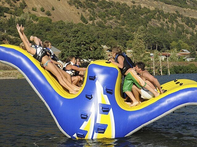 High Quality Inflatable Water Seesaw Use In Water Park Or Swimming Pool For Sale BY-WT-011