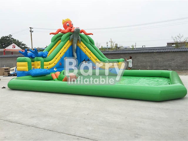 Octopus Inflatable Water Park