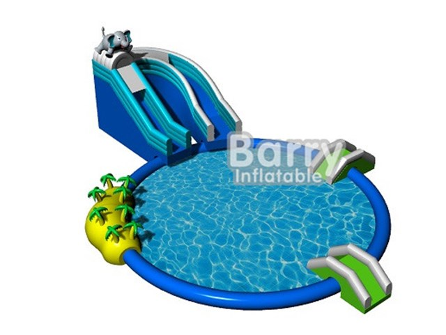 Elephant Inflatable Water Park