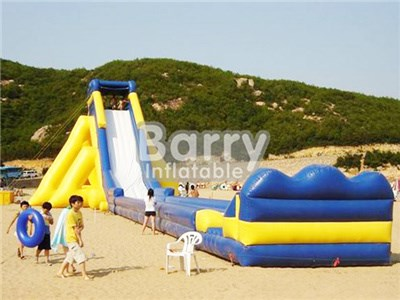 China Manufacturer Yellow Giant Inflatable Water Slide For Adult BY-GS-004