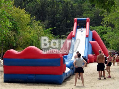 Cheap Price Red Giant Inflatable Slide For Adult BY-GS-008