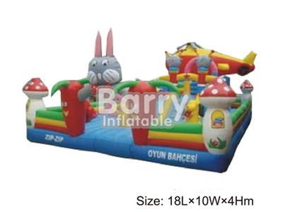 Rabbit Inflatable Playground