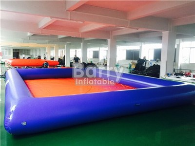 Family inflatable kids pool with haigh quality material 0.9mm  BY-041