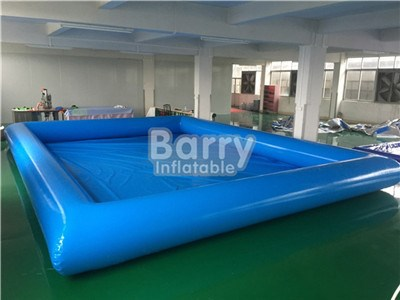 Family in pool swimming with inflatable toys buy from China Guangzhou BY-SP-042