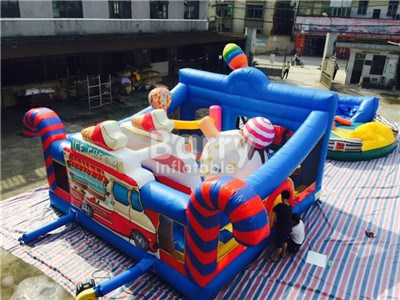 Commercial Multi-function Kids Inflatable Playground With Sport Game Inside China Factory New Product BY-IP-080