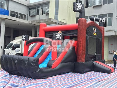 New Inflatable Product Pirate Inflatable Slide With Bounce Combo For Kids BY-IC-028