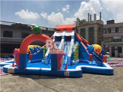Giant inflatable water park,jungle house water park for sale BY-AWP-008