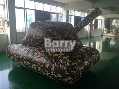 Inflatable Military Tank,Tank Model Bunker Paintball,Inflatable Tank For Bunker Field BY-SP-078