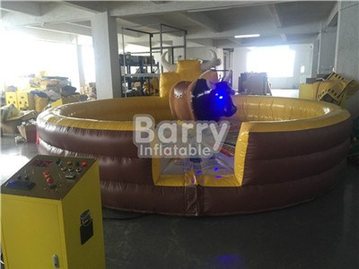 Hot Sale Game Mechanical Bull Inflatable, Inflatable Rodeo Bul BY-SP-080