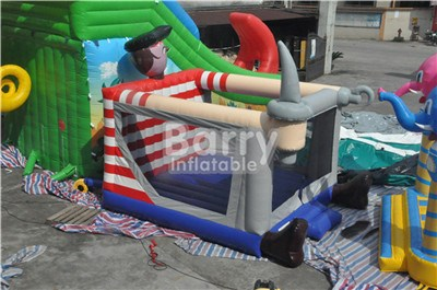 Special shape or customzied commercial pirate bounce house for sale BY-BH-051