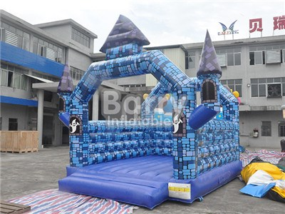 Festival Halloween Hunted House, Inflatable Bounce House Manufacturers BY-BH-053