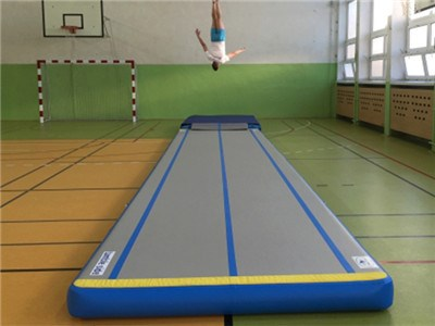 Outdoor or Indoor High Quality Air Tumble Track,Air Tumbling Mat China Factory BY-AT-006