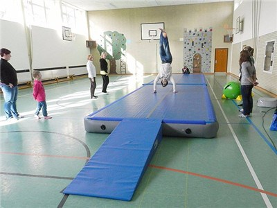 China Professional Factory Direct Sport Gymnastics Inflatable Air Track For Sale BY-AT-011