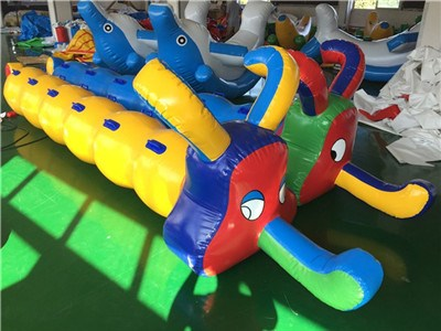 Inflatable Air Jumping Racing Tubes For Kids Outdoor Play BY-IG-070