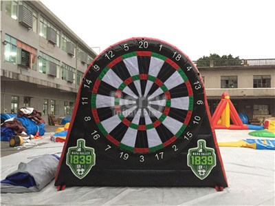 Kids N Adults Giant Inflatable Golf Dart Boards From China Inflatable Dart Game Manufacturer BY-SP-085